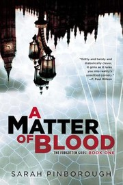 Cover of: A Matter of Blood The Forgotten Gods