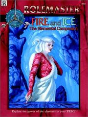 Cover of: Fire & Ice | Robert J. Defendi