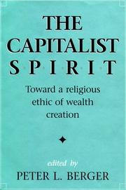 Cover of: The Capitalist Spirit
