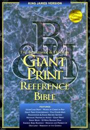 Cover of: The Broadman & Holman Giant Print Reference Bible |