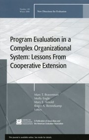 Cover of: Program Evaluation in a Complex Organizational System
