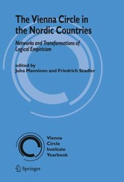 Cover of: The Vienna Circle in the Nordic Countries