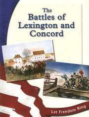 Cover of: The Battles of Lexington and Concord