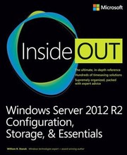 Cover of: Windows Server 2012 R2 Inside Out