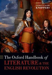 Cover of: The Oxford Handbook of Literature and the English Revolution