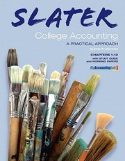 Cover of: Slater College Accounting Chapters 112