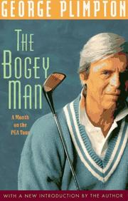 Cover of: The bogey man