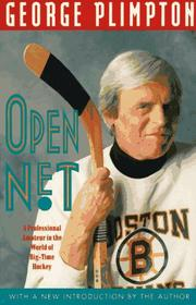 Cover of: Open net | George Plimpton
