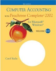 Cover of: Computer Accounting with Peachtree Complete 2002 Release 90