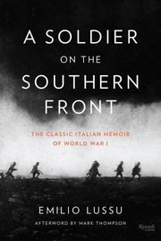 Cover of: A Soldier on the Southern Front