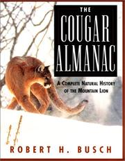 Cover of: The cougar almanac