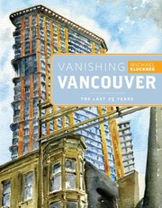 Cover of: Vanishing Vancouver