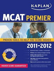 Cover of: Kaplan MCAT Premier Program With Access Code