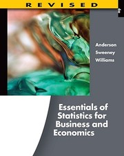 Cover of: Essentials Of Statistics For Business And Economics