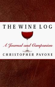 Cover of: The Wine Log | Chris Pavone