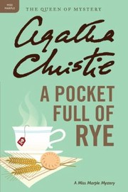 Cover of: A Pocket Full Of Rye A Miss Marple Mystery