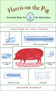 Cover of: Harris on the Pig | Joseph Harris