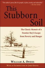 This stubborn soil by Owens, William A.