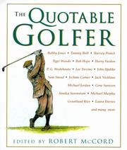 Cover of: The Quotable Golfer (Quotable)