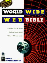 Cover of: World Wide Web bible