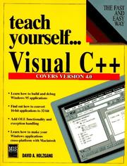 Cover of: Visual C++ 4.0