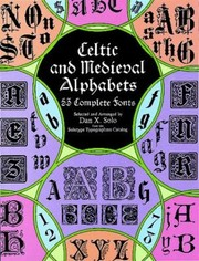Cover of: Celtic and Medieval Alphabets