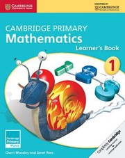 Cover of: Cambridge Primary Mathematics Stage 1 Learners Book
