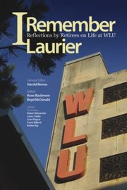 Cover of: I Remember Laurier