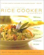 The Ultimate Rice Cooker Cookbook by Beth Hensperger