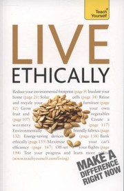Cover of: Live Ethically Peter MacBride