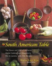 Cover of: The South American Table | Maria Baez Kijac