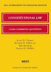 Cover of: Constitutional Law Supplement
