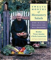 Cover of: Twelve months of monastery salads | Victor-Antoine D