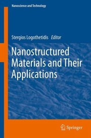Cover of: Nanostructured Materials And Their Applications