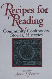 Cover of: Recipes for reading |