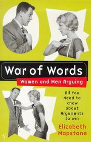 Cover of: War of words