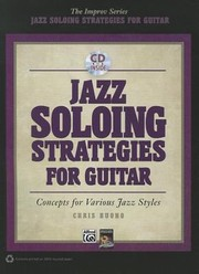 Cover of: Jazz Soloing Strategies for Guitar With CD Audio