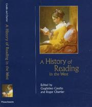 Cover of: A history of reading in the West