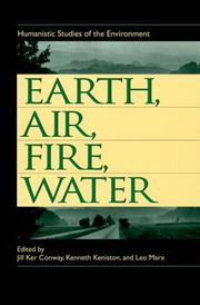 Cover of: Earth, air, fire, water