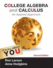 Cover of: College Algebra and Calculus