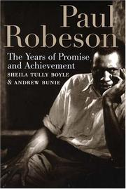 Paul Robeson by Sheila Tully Boyle, Andrew Buni