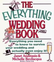 Cover of: The everything wedding book