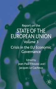 Cover of: Report on the State of the European Union Volume 3