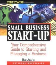 Cover of: Adams Streetwise small business start-up | Adams, Bob