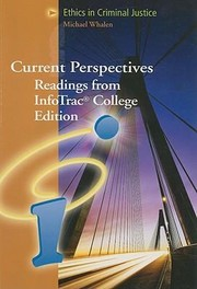 Cover of: Ethics in Criminal Justice
