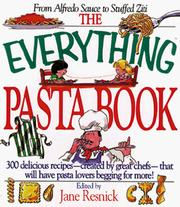 Cover of: The Everything Pasta Book