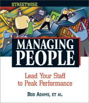 Cover of: Steetwise Managing People