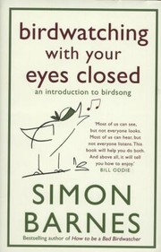 Cover of: Birdwatching with Your Eyes Closed