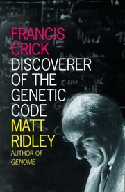 Cover of: Francis Crick