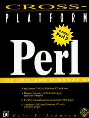 Cross-platform Perl by Eric Foster-Johnson